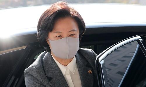 """추미애 """"윤석열, 중상모략 화내기 전 지휘관으로서 사과했어야"""""""