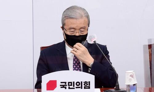 """""""비대위 끝내자""""…'김종인 비대위' 흔드는 중진들, 왜?"""
