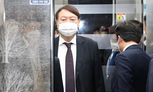 """""""임기 마친 뒤 국민에 봉사"""" 윤석열에 정치권 시끌"""