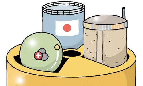 삼중수소, 후쿠시마, 월성 1호기