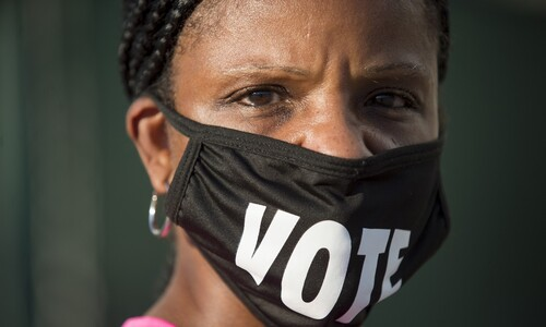 미 흑인·Z세대, 사전투표 열기 뜨겁다