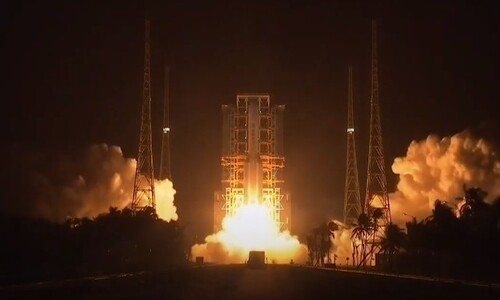 중국, 달 표본 수집-귀환선 '창어5호' 발사