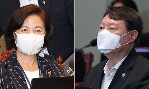 추 법무, 다음주 징계위 소집… 윤 총장은 변호인단 곧 구성