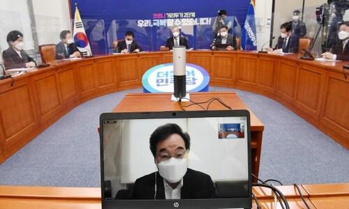 여, 3차 재난지원 '본예산 편성' 선회…뉴딜예산 삭감엔 선긋기