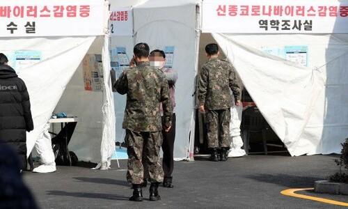 연천 신병교육대 60명 무더기 확진…군 '최대 규모' 감염