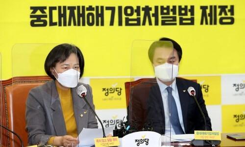 """정의당 """"전국민에게 재난지원금 30만원 지급해야"""""""