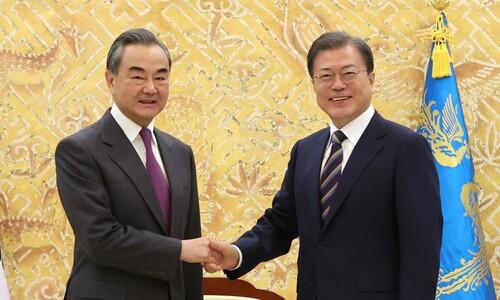 한국은 '수망상조', 일본은 '일의대수'…왕 부장 말의 속뜻은?