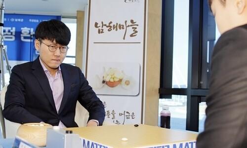 신진서, 박정환 상대 6전 전승