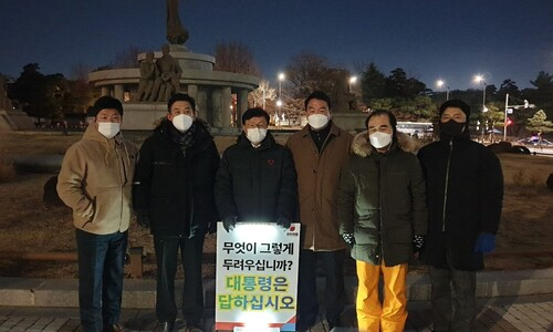 안철수도 반색한 국민의힘 '초선 시위'