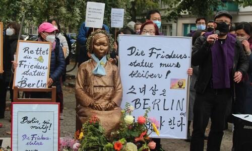 베를린 소녀상 영원히 지키기로…지역의회, 영구설치 논의 결의