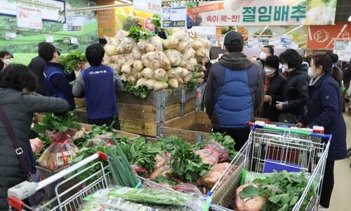 11월 소비자물가 0.6% 상승…저물가 지속