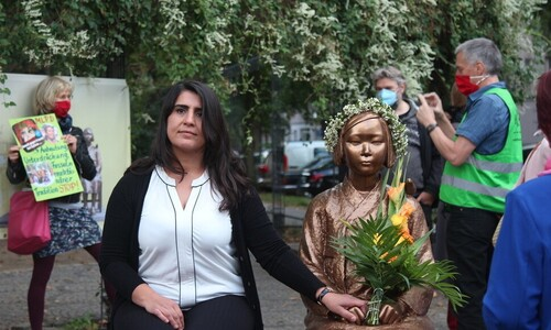 '베를린 소녀상' 철거 없이 계속 유지된다