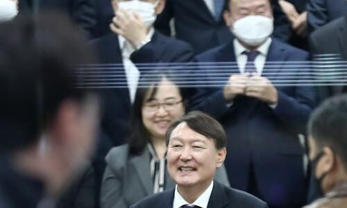 """""""보궐선거 갈길 바쁜데""""…'윤석열 현상' 떨떠름한 국민의힘"""