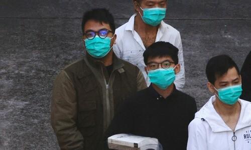 조슈아 웡 13.5개월…'홍콩 민주화' 청년 3명 실형 선고