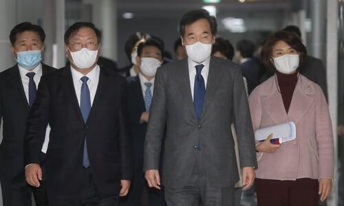 지지율 '국민의힘>민주'…두 당의 서로 다른 표정관리