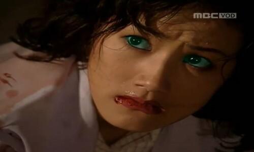 지금 봐도 무서워, 심은하 '초록 눈'…바이러스 서사 'M'