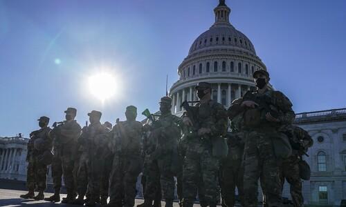 '외로운 늑대' 막아라…바이든 취임식 경비 군인 12명 임무 배제