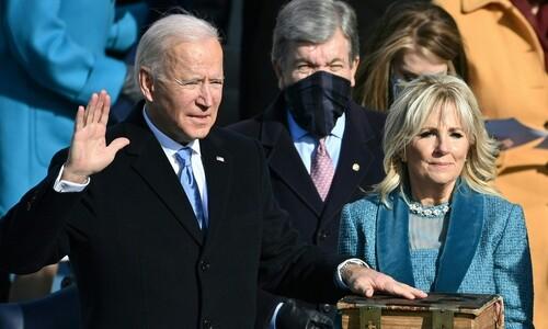 """바이든, 분열의 미국 앞 """"내 영혼 다 쏟아 통합"""""""