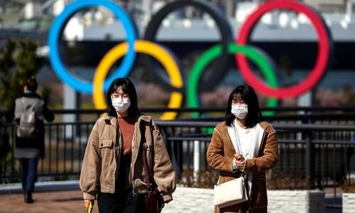 """일본 정부 '올림픽 취소 내부결론' 보도에 """"그런 사실 없다"""""""
