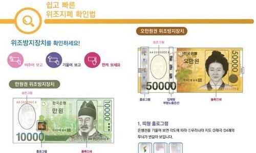 위조지폐, 역대 최저 이유는?