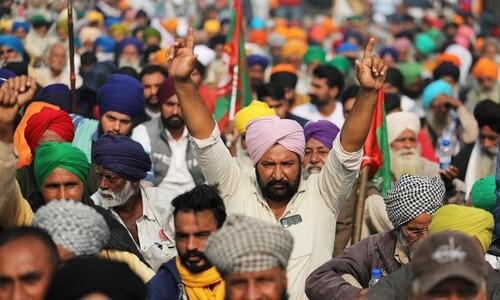 '인류 역사상 최대' 인도 농민시위, 석달째 계속되는 까닭
