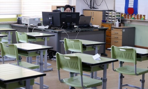 """초등 1~3학년 등교수업 확대…""""기간제교사 2천명 투입"""""""