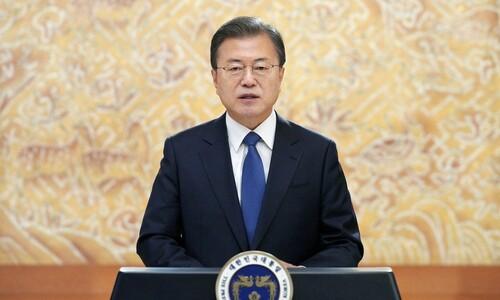 바이든과 통화 앞둔 문 대통령, 시진핑과 먼저 통화