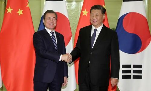 바이든과 대화 앞두고 시진핑은 왜 문 대통령과 통화했을까