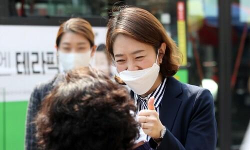고민정, '조선시대 후궁' 빗댄 조수진 모욕죄로 고소