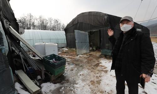 경기도내 이주 노동자 10명 중 4명꼴로 비닐하우스 숙소 산다.