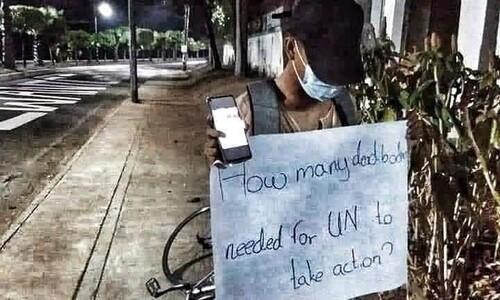 '80년 광주' 닮아가는 미얀마…얼마나 더 죽어야 UN이 움직일까