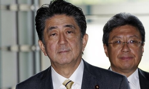 한국 경제보복 주도한 아베 최측근, 미쓰비시중공업 고문 내정