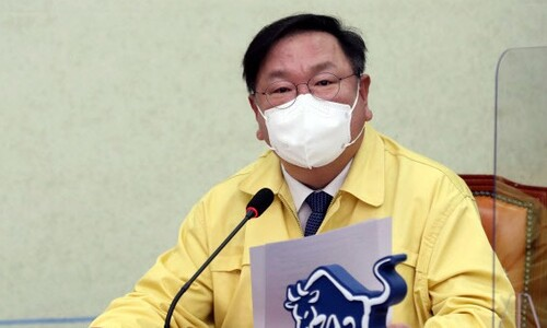 """김태년, 'LH 직원 투기의혹'에 """"부동산 대책 찬물 끼얹는 행위"""""""