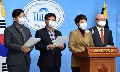"""야권 """"LH 사장 시절 뭐했나""""…직원 투기 의혹에 변창흠 정조준"""