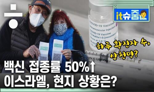 백신 접종률 50%, 이스라엘 교민이 전하는 '백신 사회'
