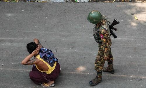 """미얀마 또 38명 숨져…""""진짜 전쟁 벌어질 수도"""""""
