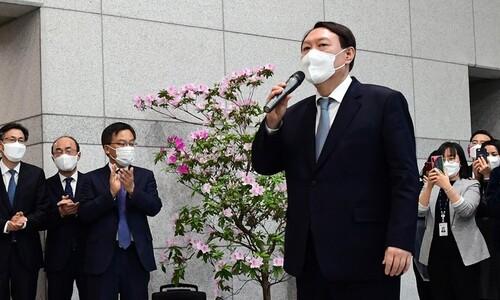 [사설] 사퇴한 윤석열, 정치권 진출은 '검찰 중립' 부정이다