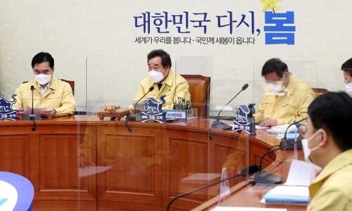 """민주 지도부, 윤석열 맹폭 """"마지막까지 정치검사…최악의 총장"""""""