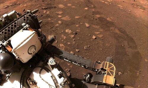 화성 탐사로버, 2주만에 첫 시험주행