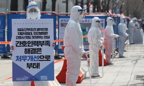 코로나 진단검사 23만→50만건 늘려 '위험한 봄' 대비한다