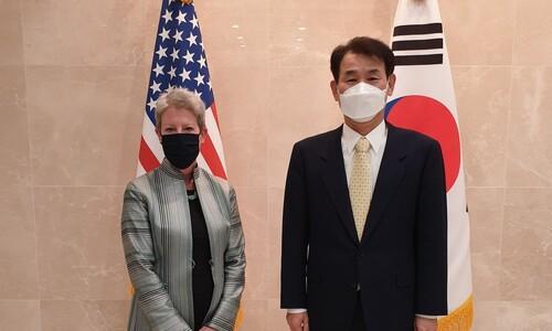 """미, 한-미 방위비 협상 타결에 """"바이든의 동맹 활성화 반영"""""""