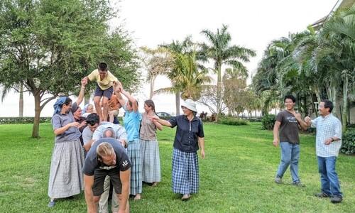 플로리다공동체에서 보낸 열흘간의 꿈같은 여행