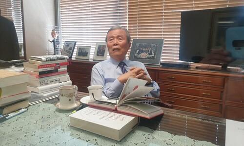 """""""야권 승리? 건방진 말""""…김종인, 거침없는 '안철수 비토'"""