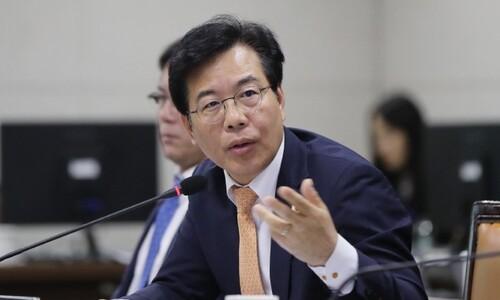 """송언석 당직자 폭행에 당원 게시판 """"징계하라"""" 빗발"""