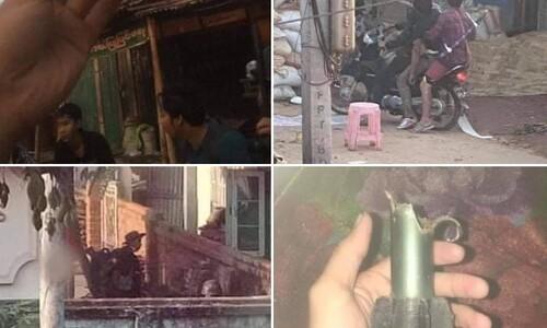 미얀마 군경, 박격포 등 중화기 동원…시위대는 게릴라전