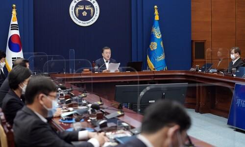 국무회의 '나홀로 야당' 오세훈, 첫날부터 방역·공시가 '설전'