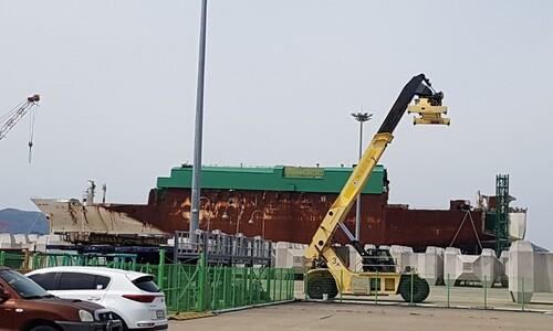 목포신항에 잠든 세월호, 1.3㎞ 거리 고하도로 옮겨 영구보존