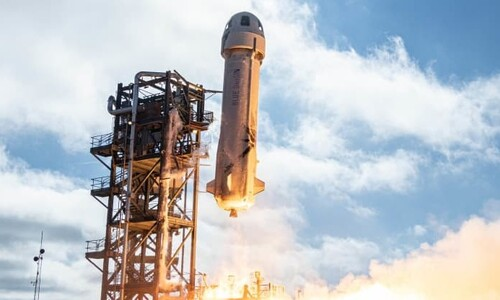 블루오리진, 유인 준궤도비행 최종 리허설 성공