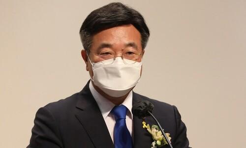 [속보] 민주당 새 원내대표에 윤호중