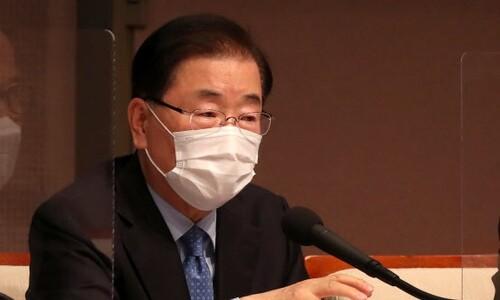 """정의용 """"일본, 위안부 협상 현실적 대안 내놔도 억지주장 반복"""""""